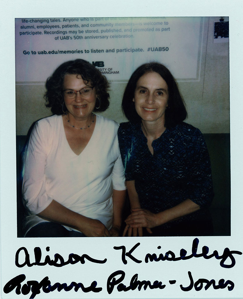 Alison Kniseley & Roxanne Palmer-Jones
