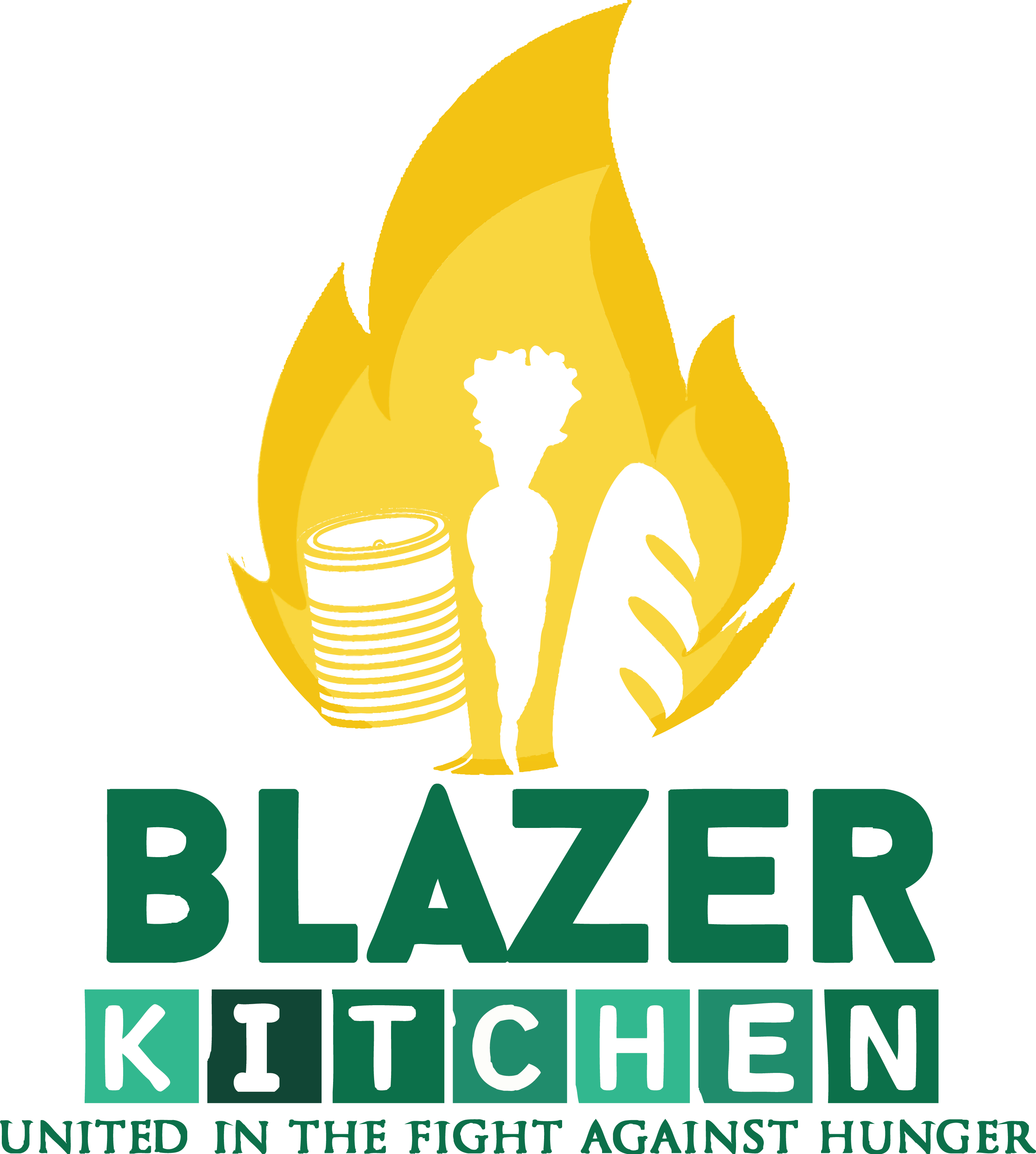 Blazer Kitchen Logo Large Text Small