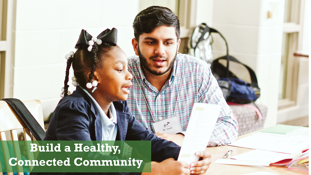 Build a Health, Connected Community