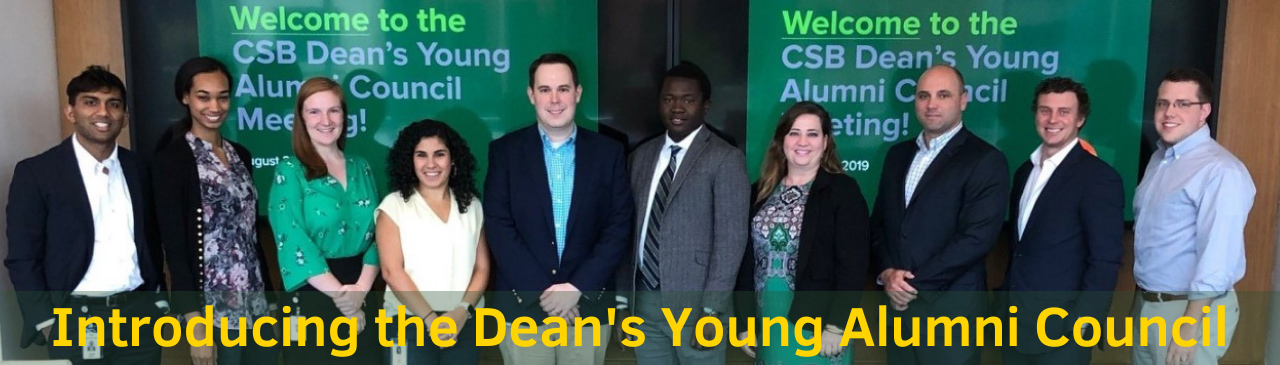 New Dean's Young Alumni Council