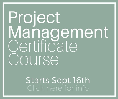 Project Management Certificate Sept16