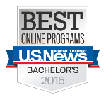 US News best online bachelors 2015 150
