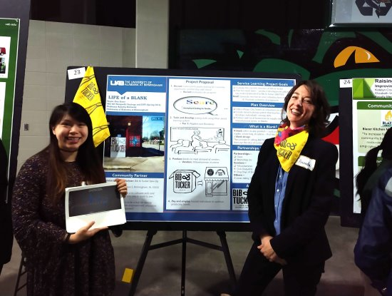 Sophia Ngo and Amanda Boggan from One Stone at 2019 Spring Research Expo