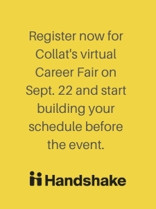 Register now for virtual Collat Career Fair