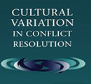 "Part of the cover of ""Cultural Variation in Conflict Resolution."""