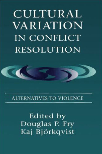 "Cover of ""Cultural Variation in Conflict Resolution."""