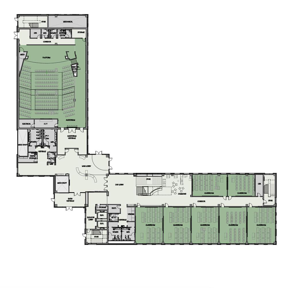 Uab Cas Building Floorplans