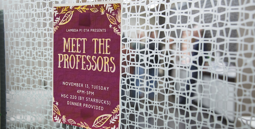 CAS Meet Professors 23