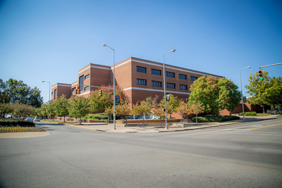 Campbell Hall, home of the department of Computer Science.