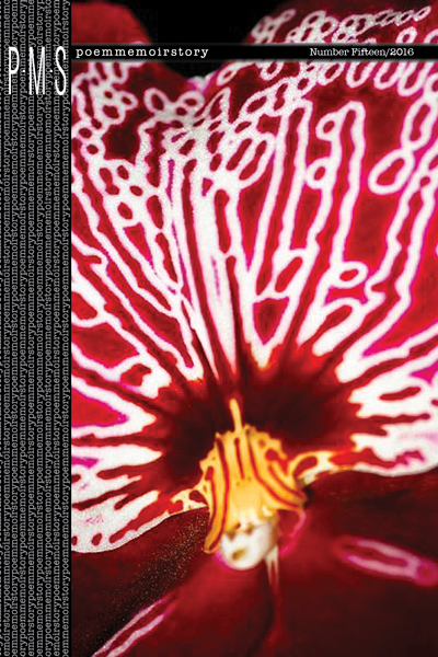 Cover of PMS 15, an orchid with electric details.