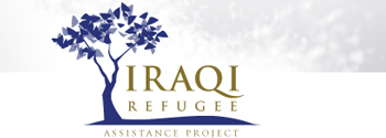 The Iraqi Refugee Assistance Project logo.