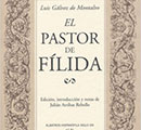 Part of the cover of El pastor de Filida.