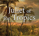 "Part of the cover ""Juliet of the Tropics"" featuring palm trees."