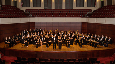 This is a picture of the Wind Symphony.