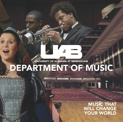 UAB Music Brochure cover