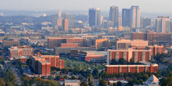Image of the UAB campus skyline.