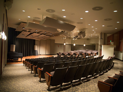 This is a picture of Hulsey Recital Hall.