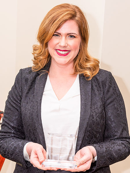 Keller Christmas Parade 2020 Amanda Keller: Distinguished Young Alumni Award 2020   CAS   News