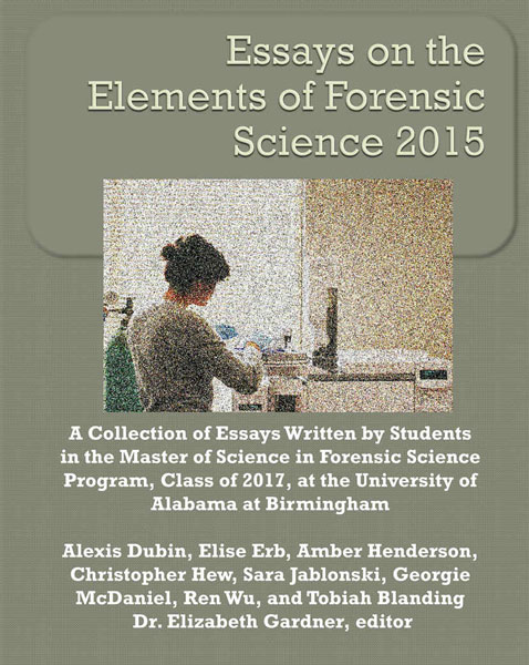 the history of forensic science essay The individual's education is in the social sciences, general studies, history, or criminal justice, if the individual is seeking a career as a crime scene investigator, he or she should supplement degree work with courses in computer science, forensic sciences, and photography a candidate for the crime.