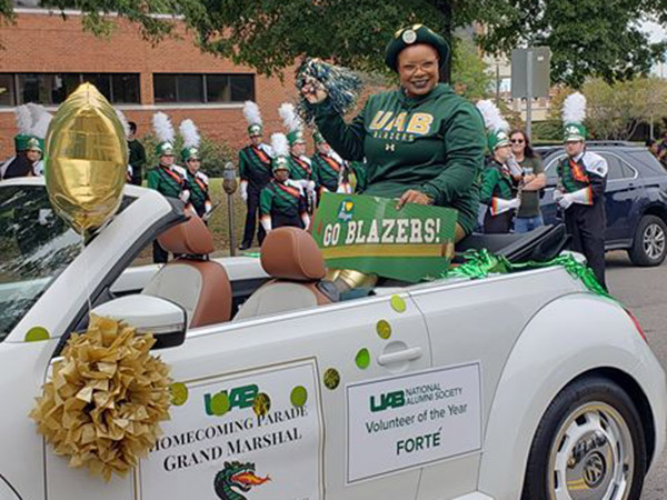 Forte' - Grand Marshal of the 2019 UAB Homecoming Parade