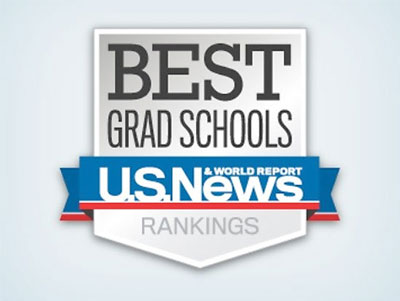 Logo: Best Grad Schools, U.S. News & World Report rankngs.