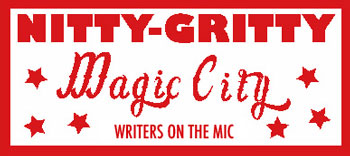 Graphic: Nitty Gritty Magic City Writers on the Mic.