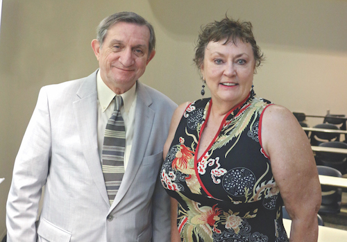 Mark Hickson and Marilyn Padgett-Greely