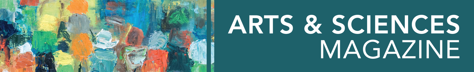 Arts and Sciences Magazine (banner).