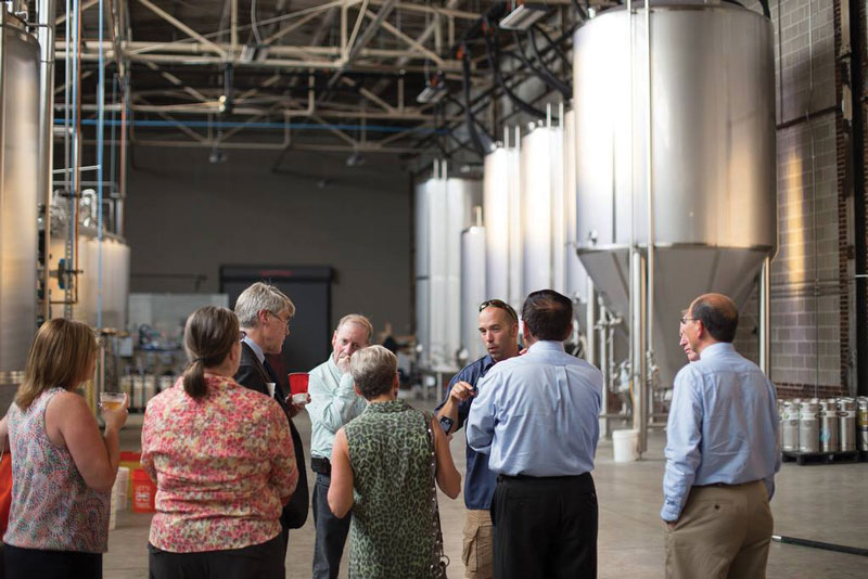 CAS Alumni Night Cahaba Brewing Tour