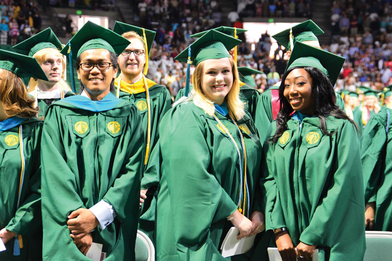 Summer Commencement Group Of Uab Graduates