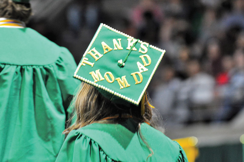 Summer Commencement Thanks On Grad Cap