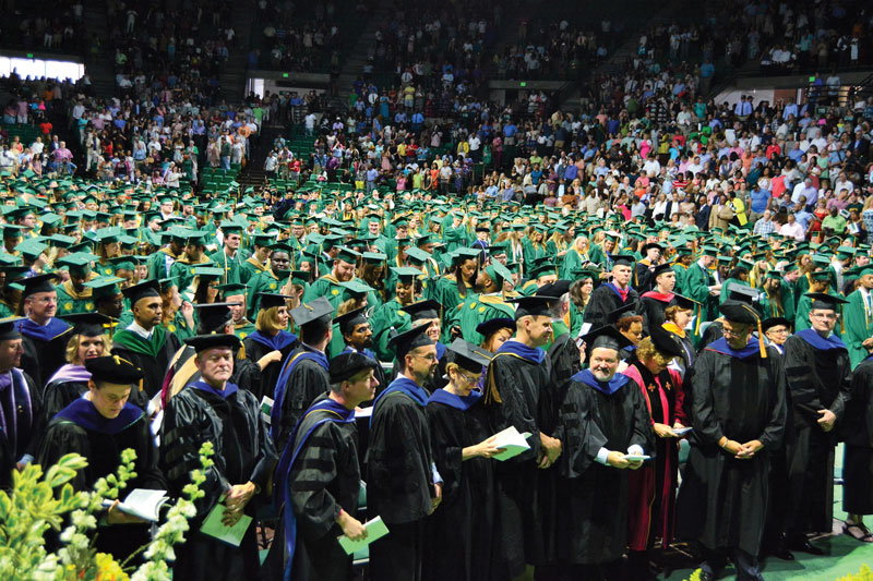 Summer Commencement Uab Graduates And Uab Faculty