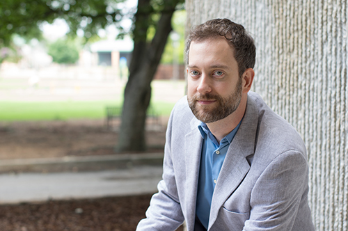 Matt King, assistant professor in the Department of Philosophy.