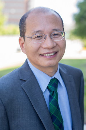 Yuliang Zheng, chair, Department of Computer Science.