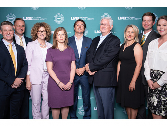 Arts and Sciences alumni honored at UAB Excellence in Business Top 25 event