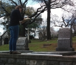 History Student Takes Lessons from the Dead at Oak Hill Cemetery