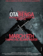 Film Screening — Ota Benga: A Negro Boy On Exhibition in a Monkey Cage