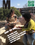 Memorandum Spring 2017 cover featuring two UAB students.