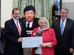Japanese Consul-General presents grant