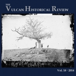 Vulcan History Review Volume 18 Now Available