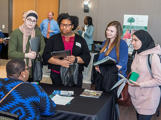 Students learn about career opportunities at third annual Social Work Career Day