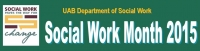 Social Work Month 2015 events