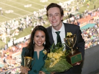 Henry Kendrick and Khushee Modi win Mr. and Ms. UAB Scholarship Competition