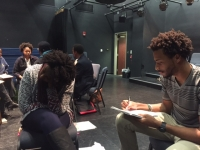 Students Contribute to Creation of Musical at Hip Hop Writing Workshop