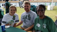 Department of Social Work participates in the Homecoming 2017 Blazer Village