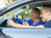 Technology addiction more likely a factor for teen drivers texting and talking with friends than with parents