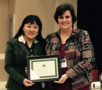 Ling Ma Receives 2016 Alabama Educator of Excellence Award from Alabama World Language Association