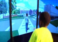 UAB psychologist develops simulator to help kids learn how to safely cross a street