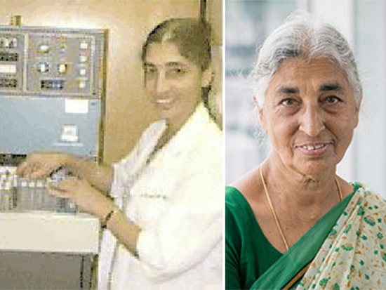 Pioneering Women in UAB Biology: Dr. Vithal Ghanta