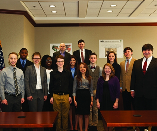Mock Trial Team Advances